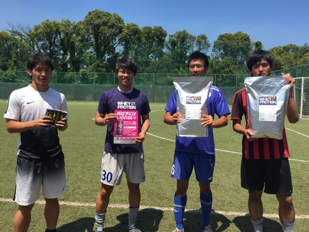 横浜国立大学 体育会サッカー部 エクスプロージョン プロテイン
