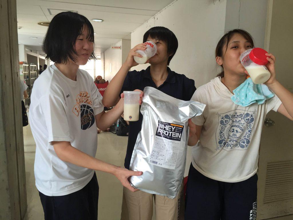 京都大学 女子バスケットボール部 エクスプロージョン ホエイプロテイン